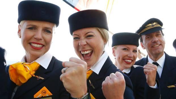 Flight attendants perks