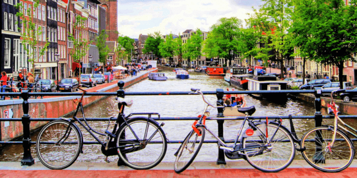 Amsterdam Layover-bike tour