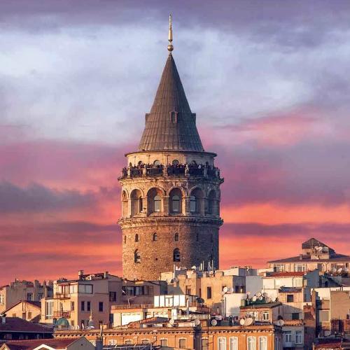 Layover in Istanbul Galata Tower