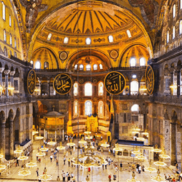 Hagia, Sophia, Turkey