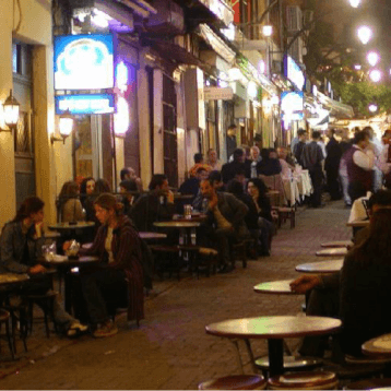 nevizade in Istanbul- for great food and nightlife
