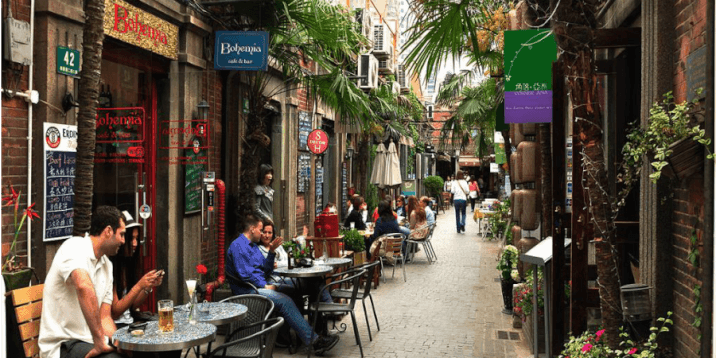 layover in shanghai- the french concession
