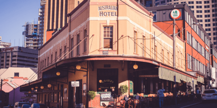 Australian National Hotel in Sydney
