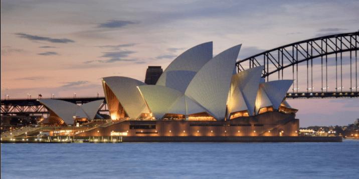 Harbour Bridge and Opera House Sydney