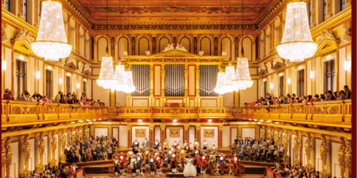 things to do in vienna- layover in vienna- golden hall of musikverein