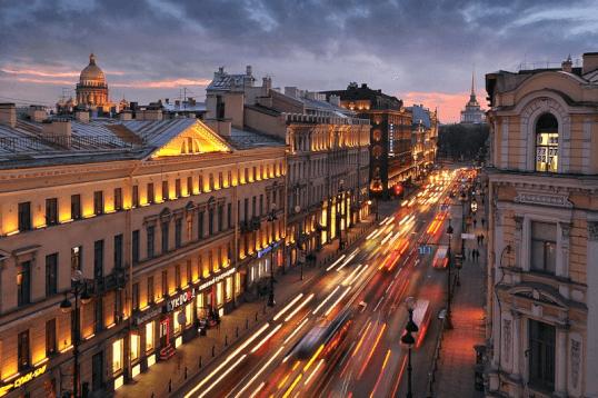 Nevsky Prospekt - WOC layover tips