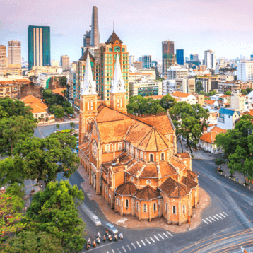 Saigon's Notre Dame Cathedral - WOC layover tips