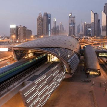 Getting Around: Dubai Metro