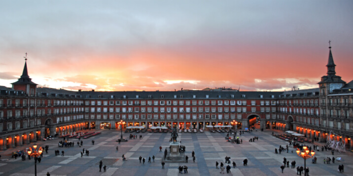 Plaza Mayor: Shop all you can!