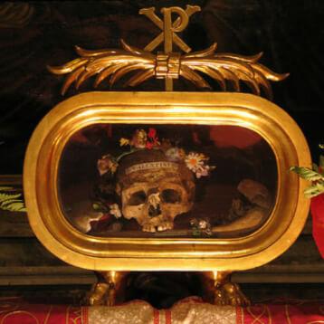 St. Valentine's Skull