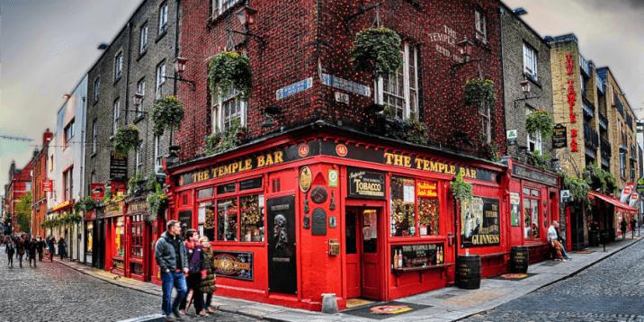 layover in dublin- temple bar