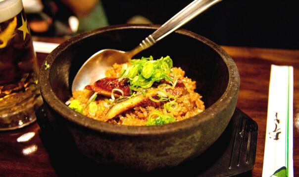 Grilled eel fried rice - Wagaya
