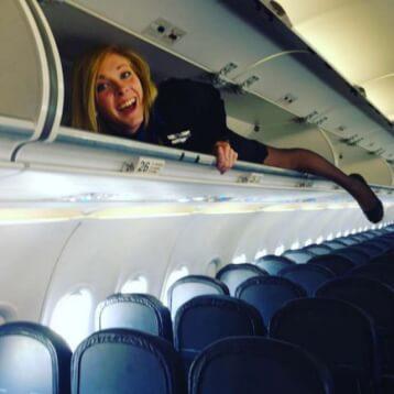 Sleeping during flights