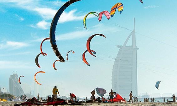 Kite Beach at Dubai