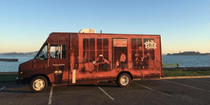 San Francisco Layover - Marina Green Philz Truck