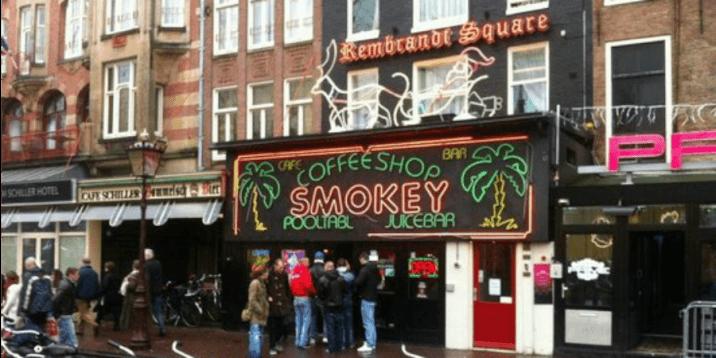 Amsterdam Layover-smokey's