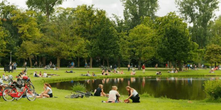 Amsterdam Layover-vondelpark